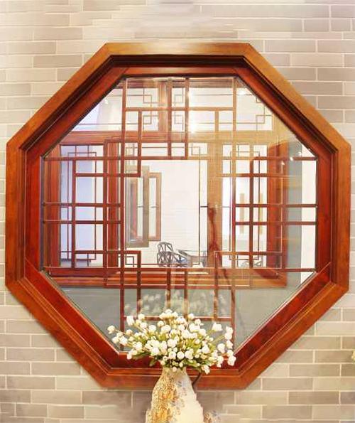 上海实木八角窗