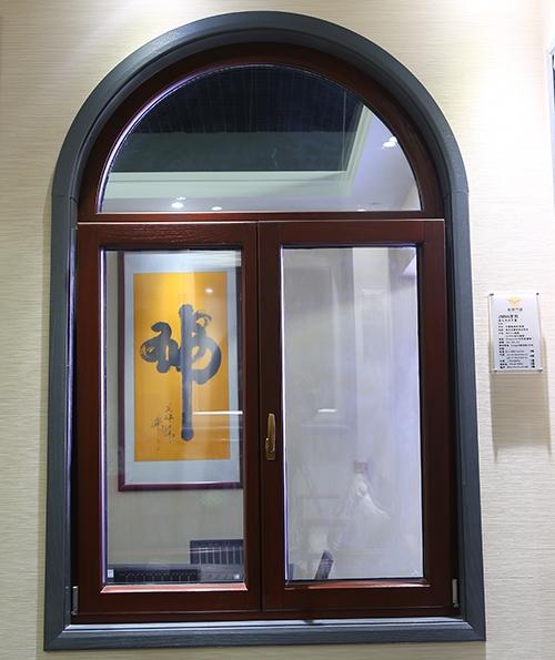 86系列铝包木圆弧窗